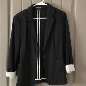 Black Express blazer